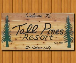 Tall Pines Resort Hayward Nelson Lake Resort